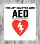 AED Facility Decal