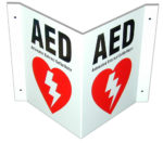 DAC-230 3-Way AED Sign