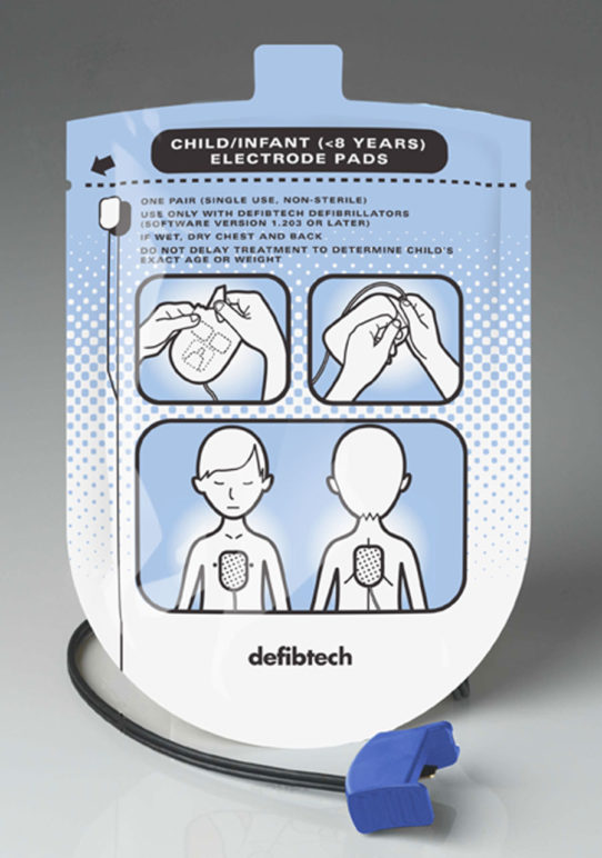 Pediatric Defibrillation Pads