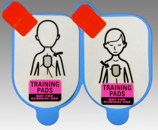 defibtech paediatric training pads