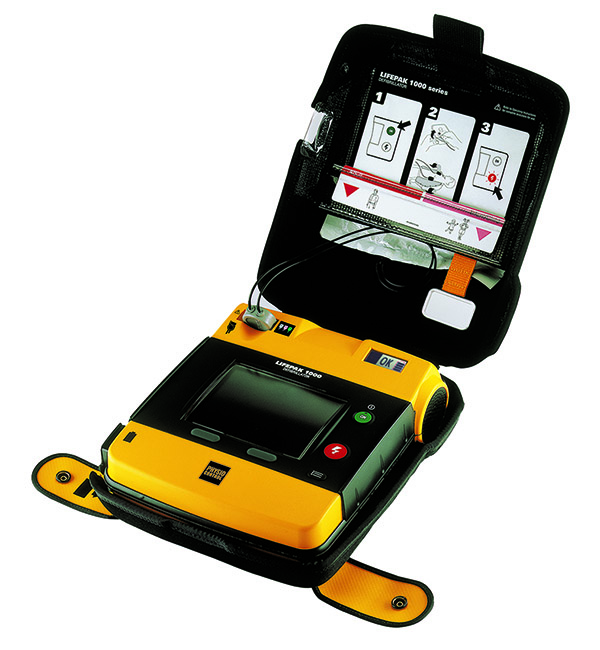 Lifepak 1000 AED ECG Display