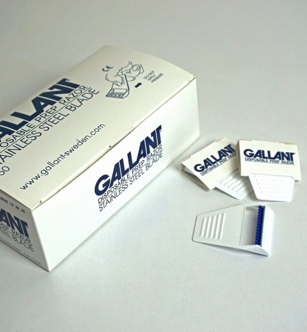 Gallant Medical Razor, Gallant razor, gallant disposable razor