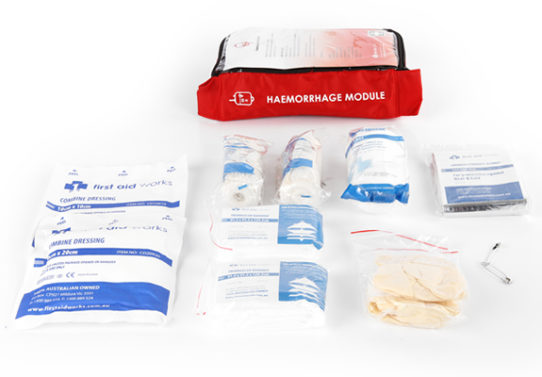 haemorrhage module first aid