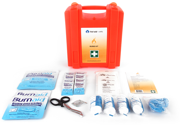 burns kit wall mountable first aid