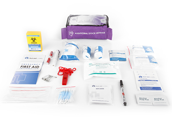 additional stock module first aid kit