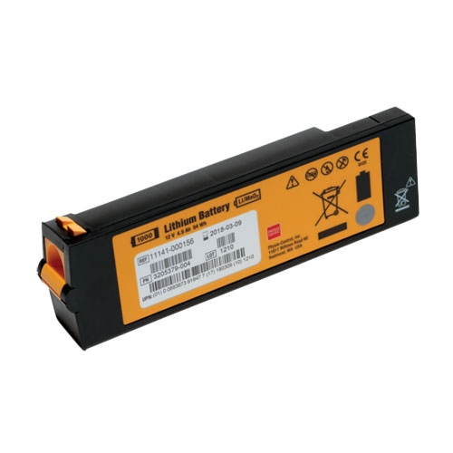 Lifepak 1000 battery physio control