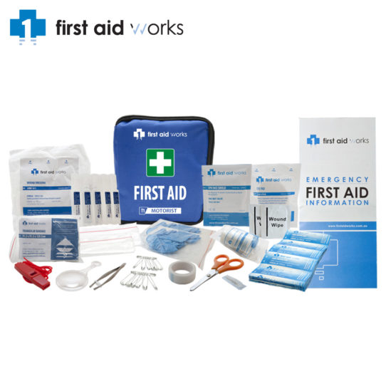 Motorist-First-Aid-Kit-FAWT1M-Contents