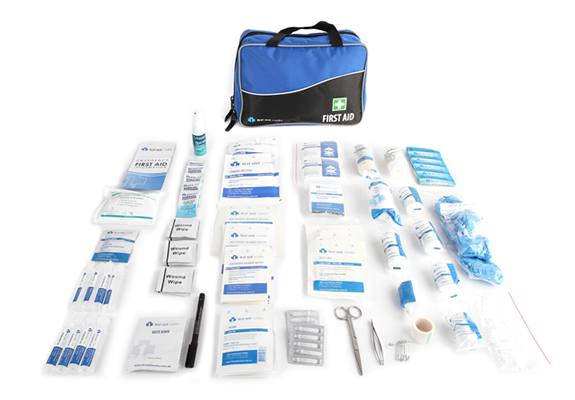 builders all purpose portable first aid kit contents