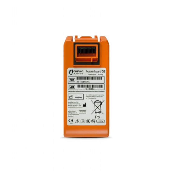 Cardiac Science AED Powerheart G5 battery cardiac science