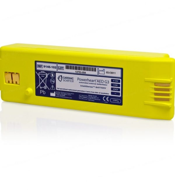 powerheart G3 battery - cardiac science defibrillator