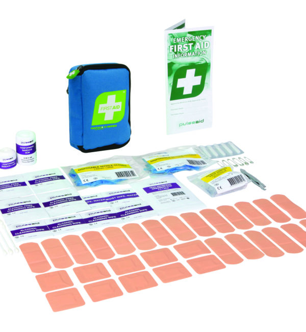 Personal compact first aid kit